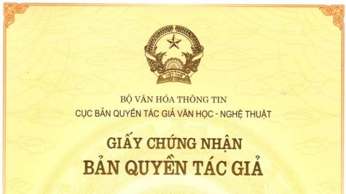 Đăng ký quyền tác giả tại Nghệ An